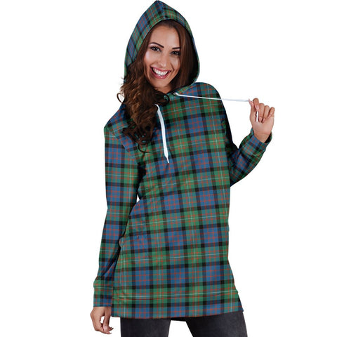 Image of Hoodie Dress - MacDonnell of Glengarry Ancient Tartan Hooded Dress