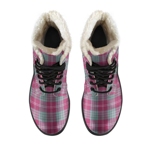 Crawford Ancient Tartan Boots For Men