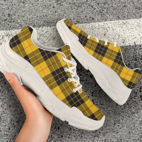 Chunky Sneakers - Tartan MacLeod of Lewis Ancient Shoes
