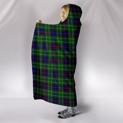 Leslie Hunting, hooded blanket, tartan hooded blanket, Scots Tartan, Merry Christmas, cyber Monday, xmas, snow hooded blanket, Scotland tartan, woven blanket