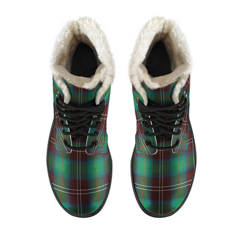 Chisholm Hunting Ancient Tartan Boots For Men