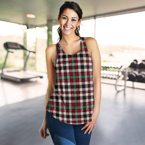 Borthwick Dress Ancient Tartan Women Racerback Tank