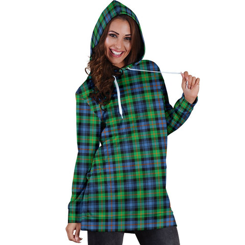 Image of Hoodie Dress - Murray of Atholl Ancient Tartan Hooded Dress