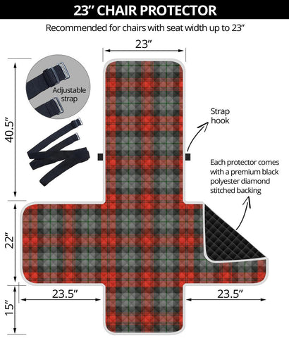 Clan MacLachlan Weathered Plaid Sofa Protector - 23 Inches