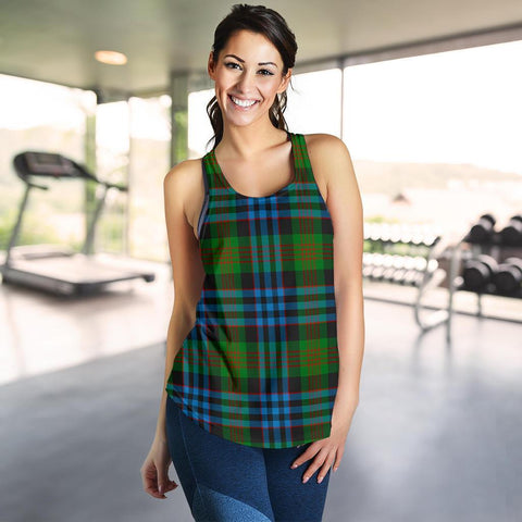 ScottishShop Newlands Of Lauriston Tartan Women Racerback Tank