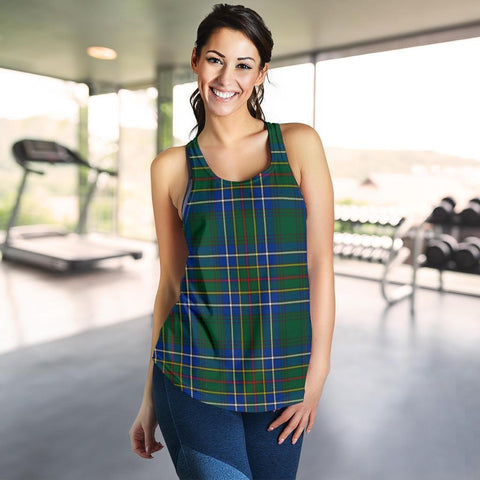 ScottishShop Cockburn Ancient Tartan Women Racerback Tank