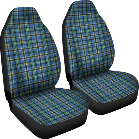 Seat Cover - Tartan Weir Ancient Car Seat Cover - Universal Fit