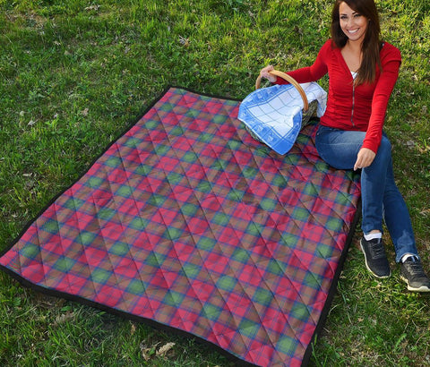 Image of Premium Quilt - Lindsay Ancient Tartan Quilt TH8
