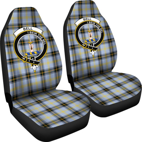 Seat Cover - Tartan Crest Bell Car Seat Cover - Universal Fit
