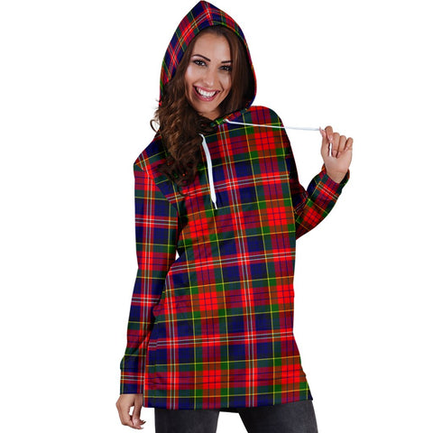 ScottishShop Hoodie Dress - MacPherson Modern Tartan Hooded Dress