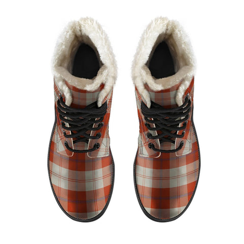 Davidson Dress Dancers Tartan Boots For Men