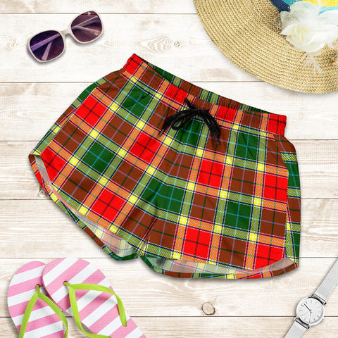 ScottishShop Gibbs Tartan Shorts For Women