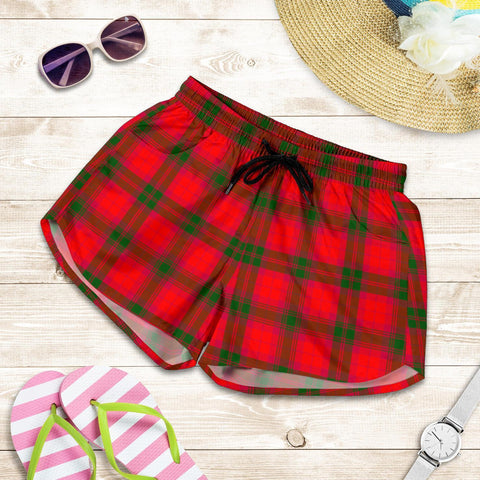 ScottishShop Macnab Modern Tartan Shorts For Women