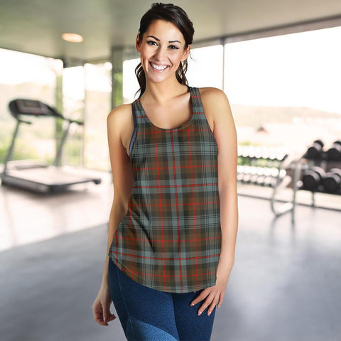 Image of ScottishShop Murray Of Atholl Weathered Tartan Women Racerback Tank