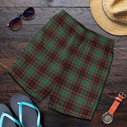 Tartan Mens Shorts - Clan Buchan Ancient Plaid Shorts