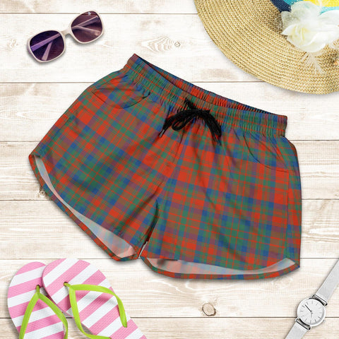 ScottishShop Matheson Ancient Tartan Shorts For Women