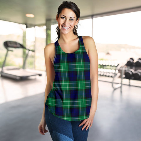 Image of ScottishShop Abercrombie Tartan Women Racerback Tank
