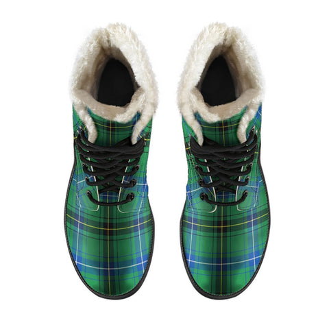 Image of Henderson Ancient Tartan Boots For Men