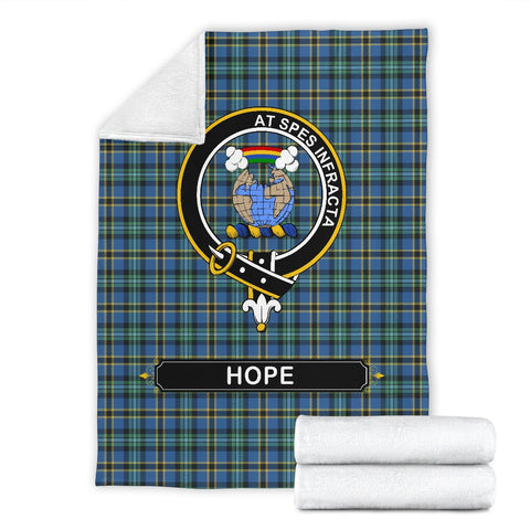 Image of Hope Crest Tartan Blanket | Tartan Home Decor | ScottishShop