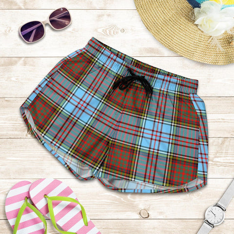 Anderson Ancient Tartan Shorts For Women Th8