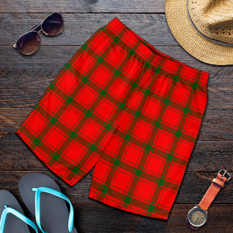 Tartan Mens Shorts - Clan MacDonald of Sleat Plaid Shorts