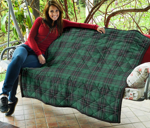 Image of Premium Quilt - MacLean Hunting Ancient Tartan Quilt TH8