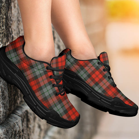 Chunky Sneakers - Tartan MacLachlan Weathered Shoes