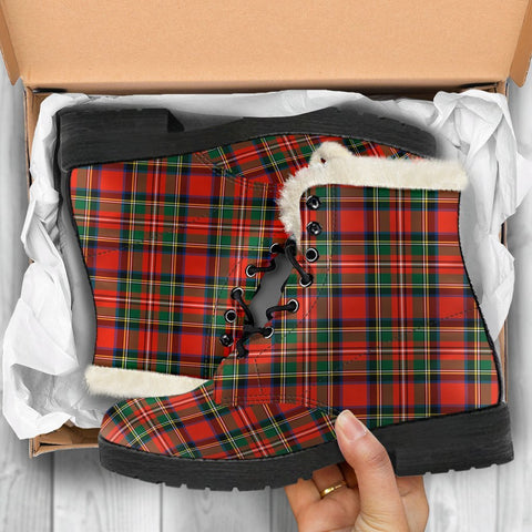 Image of Stewart Royal Modern Tartan Shoes
