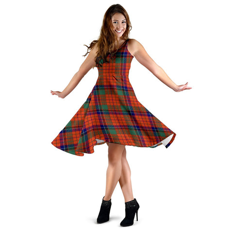 Nicolson Ancient Tartan Dress