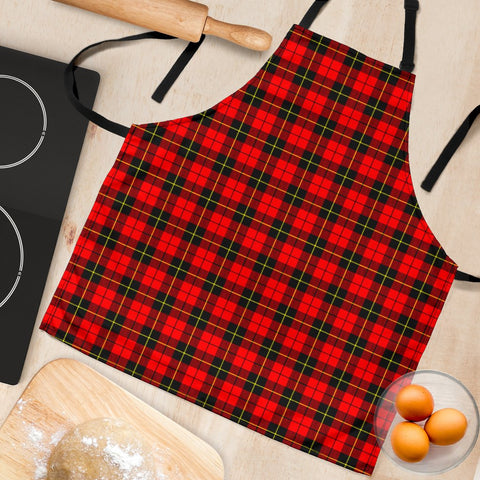 Image of Tartan Apron - Wallace Hunting - Red Apron HJ4