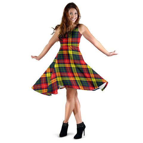Buchanan Modern Tartan Dress