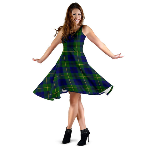 Johnston Modern Tartan Dress