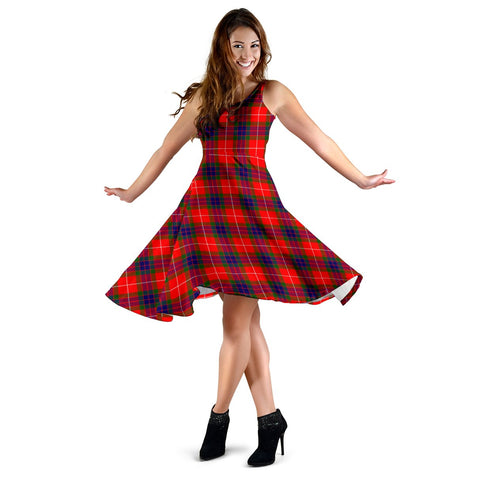 Fraser Modern Tartan Dress
