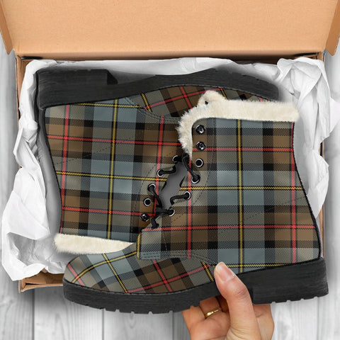 Image of Macleod Of Harris Weathered Tartan Shoes