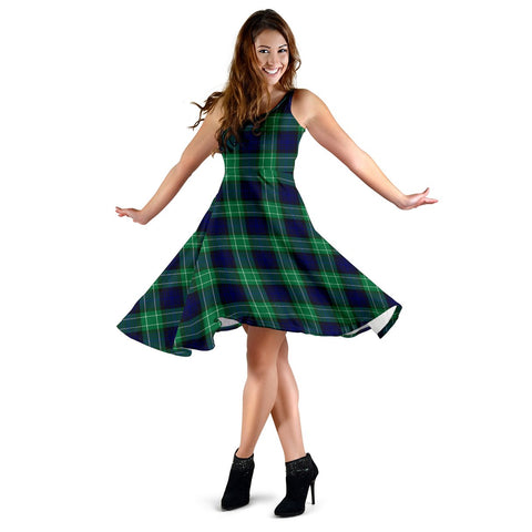 Image of Abercrombie Tartan Dress