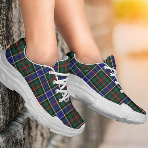 Image of Chunky Sneakers - Tartan Ogilvie Hunting Modern Shoes