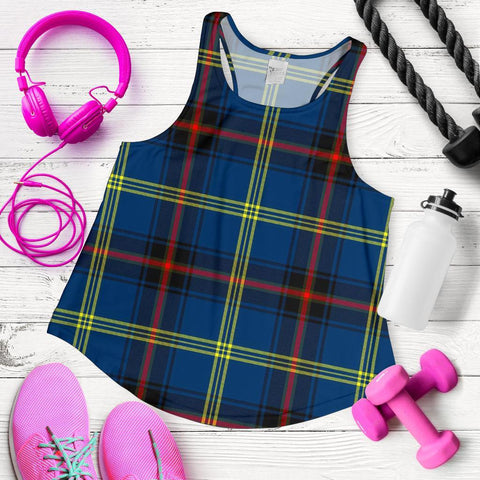 Image of ScottishShop Grewar Tartan Women Racerback Tank