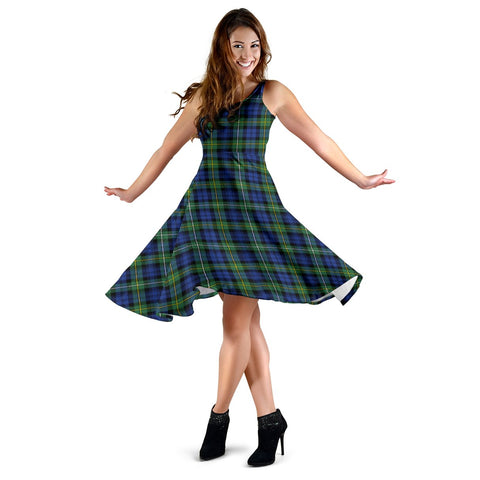 Campbell Argyll Ancient Tartan Dress