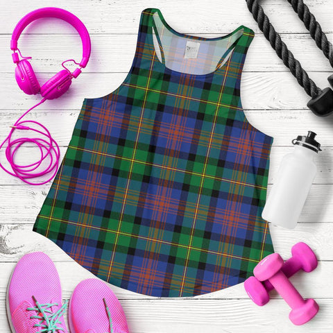 Image of ScottishShop Logan Ancient Tartan Women Racerback Tank