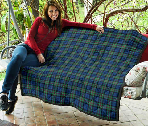 Premium Quilt - Baird Ancient Tartan Quilt TH8