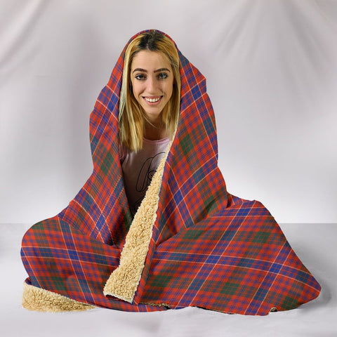 MacRae Ancient, hooded blanket, tartan hooded blanket, Scots Tartan, Merry Christmas, cyber Monday, xmas, snow hooded blanket, Scotland tartan, woven blanket