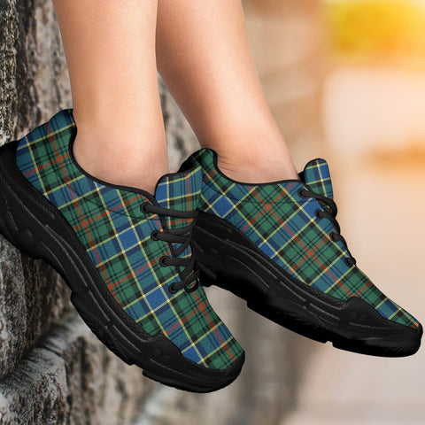 Chunky Sneakers - Tartan Ogilvie Hunting Ancient Shoes