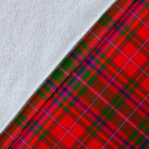 Image of MacDougall Crest Tartan Blanket | Tartan Home Decor | ScottishShop