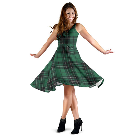 MacLean Hunting Ancient Tartan Dress