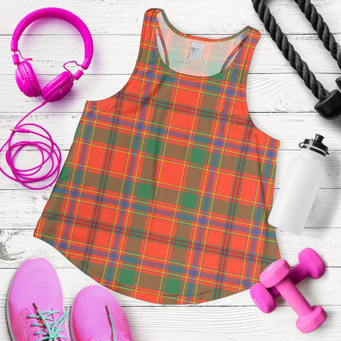 Image of Munro Ancient Tartan Women Racerback Tank
