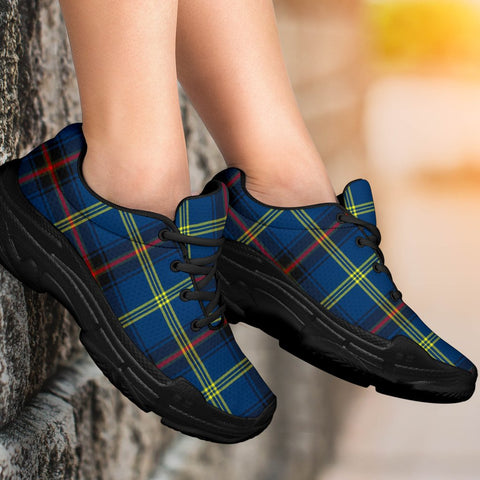 Chunky Sneakers - Tartan Grewar Shoes