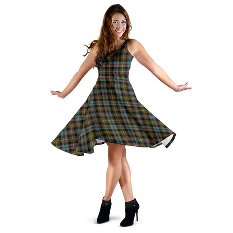 Farquharson Weathered Tartan Dress