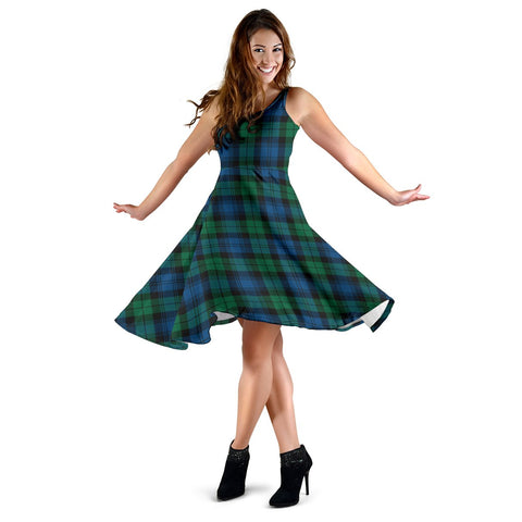 Blackwatch Ancient Tartan Dress