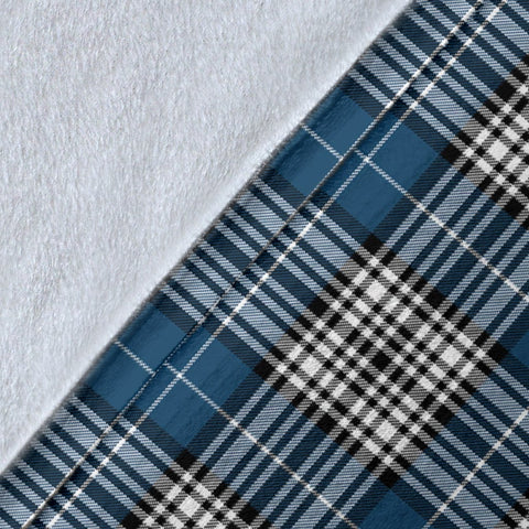Napier Crest Tartan Blanket | Tartan Home Decor | ScottishShop