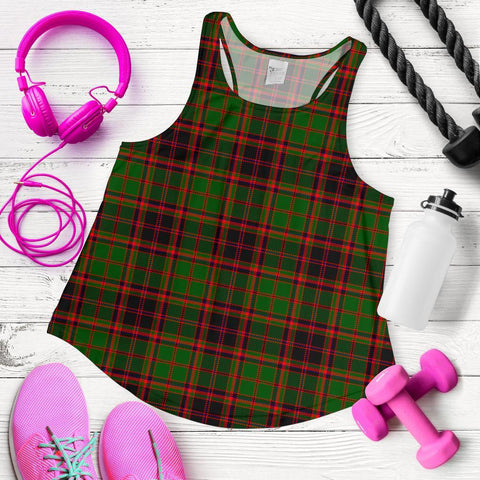 Image of ScottishShop Buchan Modern Tartan Women Racerback Tank